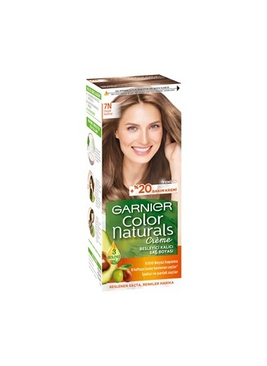 Garnier Garnier Color Naturals Saç Boyası 7N Doğal Kumral Kahve